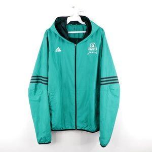 Adidas 2016 Boston Marathon Windbreaker Jacket